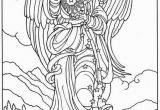 Coloring Page Christmas Star Misc Angel Sprinkling Stars