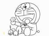 Coloring Page Doraemon and Friends Coloring Cartoon