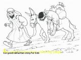 Coloring Page Good Samaritan the Good Samaritan Story for Kids Good Samaritan Coloring Page