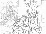 Coloring Page Jesus Heals Ten Lepers Coloring Pages Template Part 5