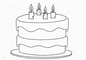 Coloring Page Of A Birthday Cake Birthday Coloring Page Coloring Page Coloring Pages