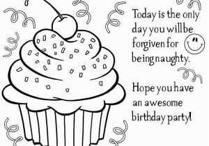 Coloring Page Of A Birthday Cake Happy Birthday Dad Coloring Birthday Cards Coloring Page