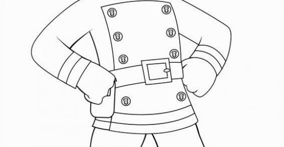 Coloring Page Of A Firefighter Firman Sam Colouring Pages