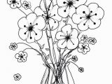 Coloring Page Of A Plant 20 Amazing Long Flowers for Vases