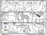 Coloring Page Of A River Animal Coloring Page Luxury Coloring Page God Created Animals Best