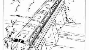 Coloring Page Of A Train Train and Railroad Coloring Pages Mit Bildern