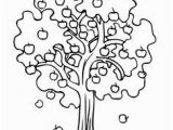 Coloring Page Of An Apple Tree 52 Best Trees Coloring Sheets Images