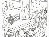 Coloring Page Of Chair the Inspired Room Coloring Book Creative Spaces to Decorate