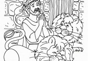Coloring Page Of Daniel In the Lion S Den Daniel and the Lions Den Coloring Page Daniel Praying Three Times A