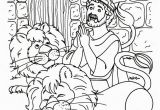 Coloring Page Of Daniel In the Lion S Den Daniel and the Lions Den Coloring Page