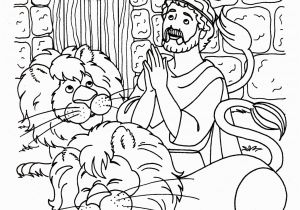 Coloring Page Of Daniel In the Lion S Den Daniel and the Lions Den Coloring Page with In Lion S Nazly