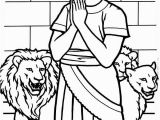 Coloring Page Of Daniel In the Lion S Den Daniel Pray to God In Daniel and the Lions Den Coloring Page