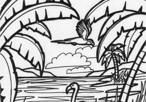 Coloring Page Of Flamingo Flamingo Coloring Page Fun