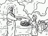 Coloring Page Of Jesus Feeding the 5000 Jesus Feeding 5000 Coloring Page Coloring Home
