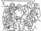 Coloring Page Of Jesus Feeding the 5000 Jesus Feeds 5000 Coloring Page – Children S Ministry Deals