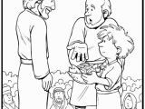 Coloring Page Of Jesus Feeding the 5000 Jesus Feeds the 5000 Coloring Page Google Search