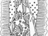 Coloring Page Of Our Lady Of Guadalupe 24 Our Lady Guadalupe Coloring Page In 2020 with