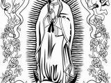 Coloring Page Of Our Lady Of Guadalupe Our Lady Guadalupe Coloring Page at Getdrawings