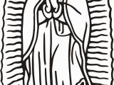 Coloring Page Of Our Lady Of Guadalupe Our Lady Guadalupe Coloring Page Coloring Home