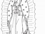 Coloring Page Of Our Lady Of Guadalupe Our Lady Of Guadalupe Coloring Page