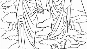 Coloring Page Of the First Vision Joseph Smith First Vision Coloring Page