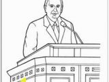Coloring Page Of Thomas S Monson Watching Pres Monson During General Conference Children S Coloring