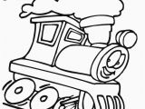 Coloring Page Of Train Engine Train ç è Š 上的釘圖