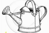 Coloring Page Watering Can 1649 F Watering Can