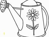Coloring Page Watering Can Stitchery Pattern Coloring Page Ally Loves Using Her Own