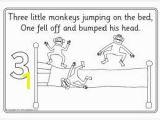 Coloring Pages 5 Little Monkeys Jumping Bed 17 Best Five Little Monkeys Images On Pinterest