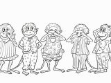 Coloring Pages 5 Little Monkeys Jumping Bed Five Little Monkeys Jumping On the Bed Coloring Page