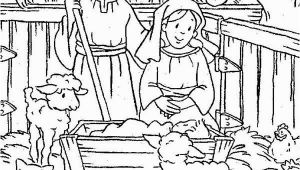 Coloring Pages Baby Jesus Printable Baby Jesus Nativity Of Baby Jesus In A Manger Coloring