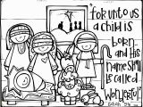 Coloring Pages Baby Jesus Printable Free Printable Nativity Coloring Pages for Kids