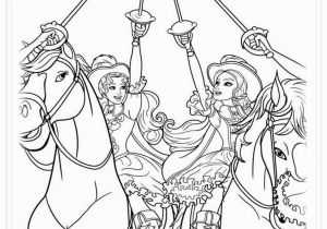 Coloring Pages Barbie and the Three Musketeers Barbie and the Three Musketeers Coloring Pages