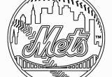 Coloring Pages Baseball Team Logos New York Mets Coloring Page Baseball Team Logo at Yescoloring