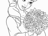 Coloring Pages Belle Princess Princess Coloring Pages for Girls Free
