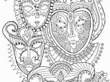 Coloring Pages Carnival Masks Pin by Laura Smith On Color Me