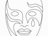 Coloring Pages Carnival Masks Pin by M´nica On Actividades Para Crian§as