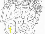 Coloring Pages Carnival Masks the Carnival Season Mardi Gras Coloring Page Holidays