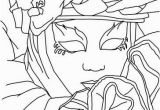 Coloring Pages Carnival Masks Venitian Mask and Costume Coloring Page