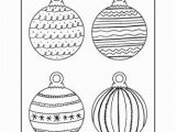 Coloring Pages Christmas ornaments Printable 35 Christmas Coloring Pages for Kids