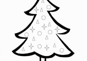 Coloring Pages Christmas Tree Printable Christmas Tree Coloring Page