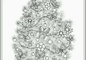 Coloring Pages Christmas Tree Printable Coloring Pages Christmas Tree