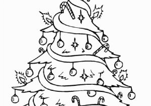 Coloring Pages Christmas Tree Printable Free Drawing A Christmas Tree Download Free Clip Art