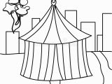 Coloring Pages Circus Tent Balloon Circus Tent Stock Illustrations – 2 243 Balloon