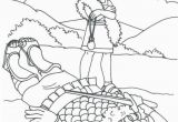 Coloring Pages David and Goliath Printable David and Goliath with Images
