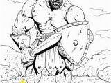 Coloring Pages David and Goliath Printable Die 100 Besten Bilder Zu David