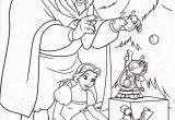Coloring Pages Disney Beauty and the Beast Beauty and the Beast Christmas with Images
