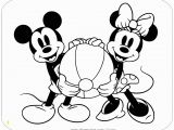 Coloring Pages Disney Minnie Mouse Coloring Page Of Classic Mickey and Minnie Mouse Holding A