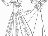 Coloring Pages Disney Princess Pdf 14 Kids N Fun Coloring Page Frozen Anna and Elsa Frozen